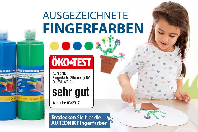 Aurednik Fingerfarbe