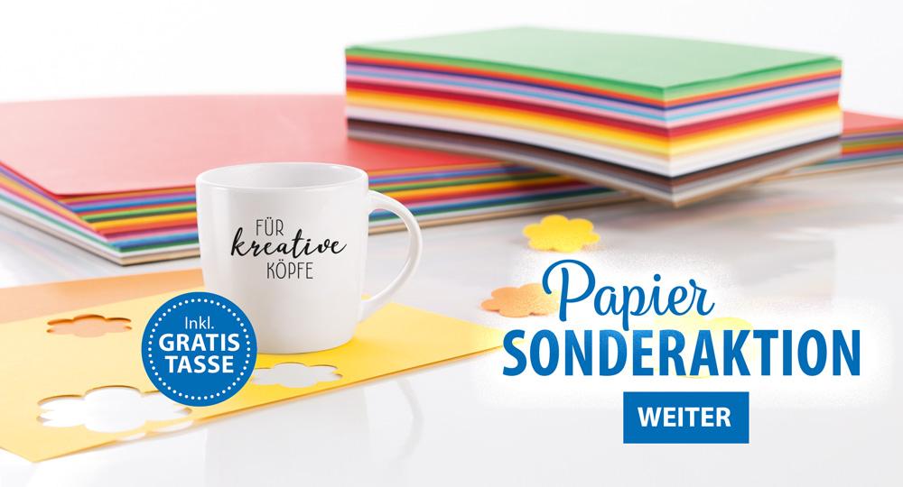 Papier-Sonderaktion