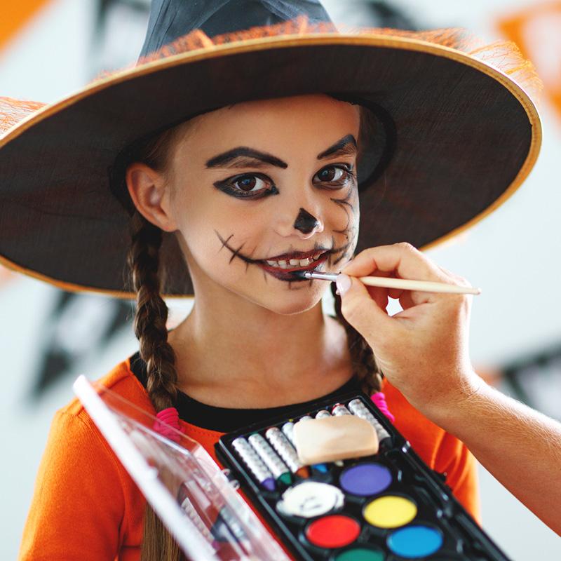 Halloween Schminken mit Aurednik