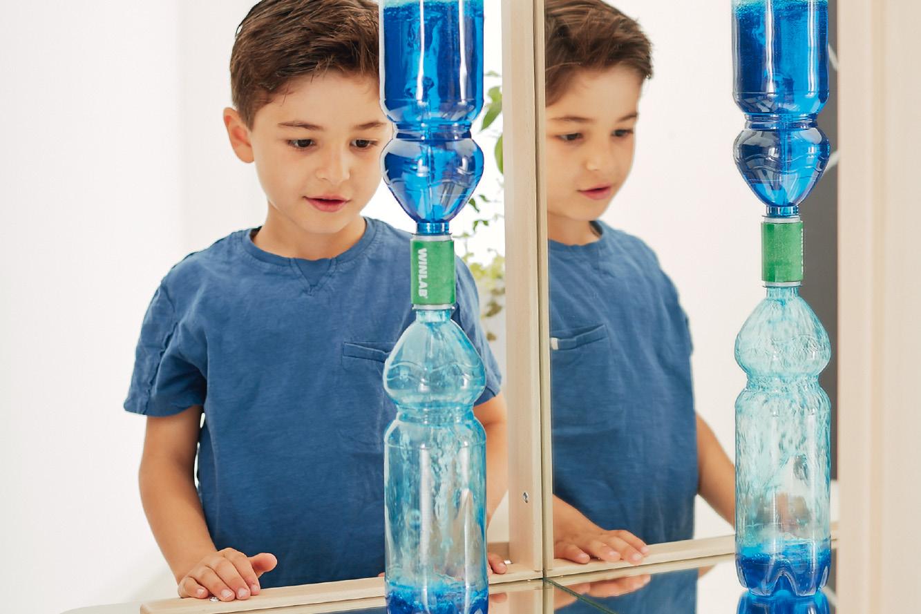 ZmA Thema Experimente Flaschentornado